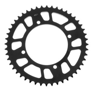 BikeMaster Rear Steel Sprockets for Offroad Rear 420, 50T, Black