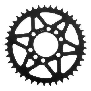 BikeMaster Rear Steel Sprockets Rear, 520, 40T, Black