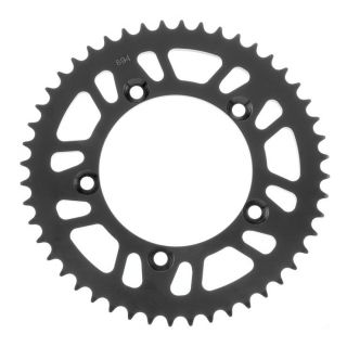 BikeMaster Rear Steel Sprockets Rear 420, 48T, Black