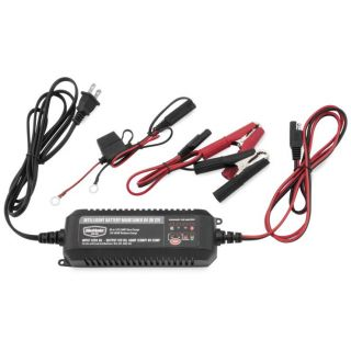BikeMaster Intelligent Battery Charger/Maintainer 4-Amp