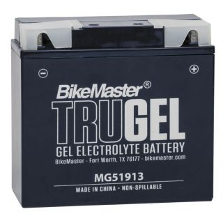 BikeMaster TruGel Batteries MG51913 Battery, 183mm L x 79mm W x 171mm H
