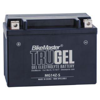 BikeMaster TruGel Batteries for Street MG14Z-S Battery, 151mm L x 87mm W x 110mm H