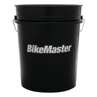 BikeMaster 5-Gallon Bucket Black, 5 Gallon