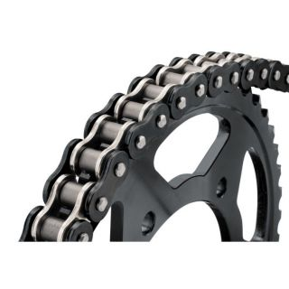 BikeMaster 525 BMOR Series Chain 525 x 120, Black/Chrome