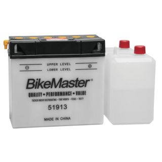 BikeMaster Performance Conventional Batteries for Offroad 51913 Battery