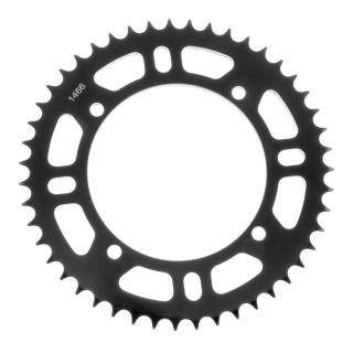BikeMaster Rear Steel Sprockets Rear 428, 47T, Black