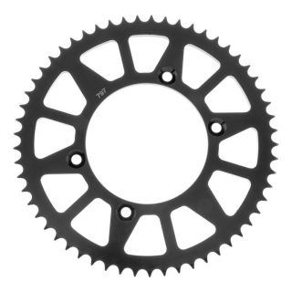 BikeMaster Rear Steel Sprockets for Offroad Rear 428, 51T, Black