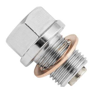 BikeMaster Steel Magnetic Oil Drain Plugs 14mm x 1.25
