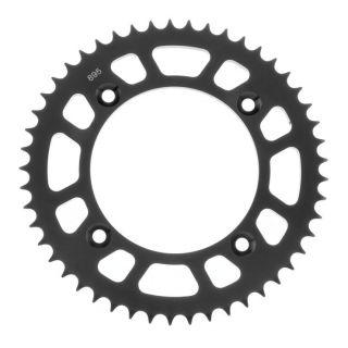 BikeMaster Rear Steel Sprockets for Offroad Rear 428, 49T, Black