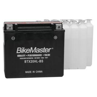 BikeMaster Performance+ Maintenance-Free Batteries for PWC BTX20HL-BS Battery
