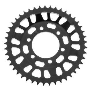 BikeMaster Rear Steel Sprockets Rear 428, 45T, Black