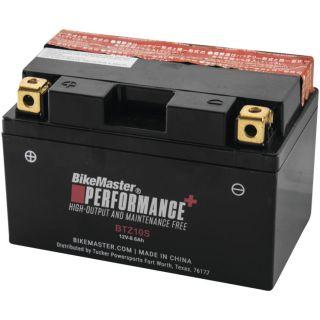 BikeMaster High-Performance+ Maintenance Free Batteries for ATV BTZ10S Battery