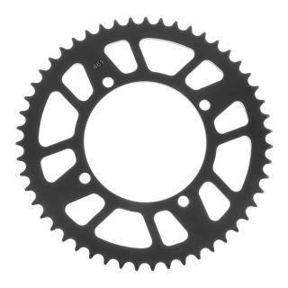 BikeMaster Rear Steel Sprockets for Offroad Rear 420, 51T, Black