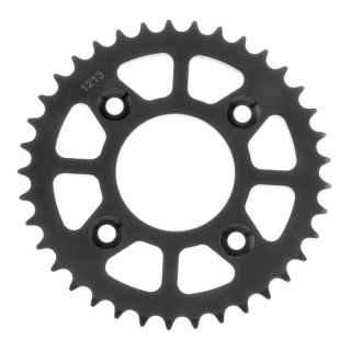 BikeMaster Rear Steel Sprockets for Offroad Rear 420, 37T, Black