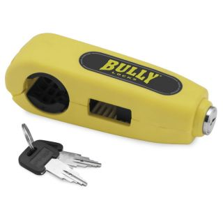 BikeMaster Grip Lock Yellow