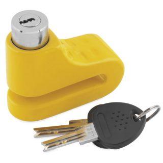 BikeMaster 5.5mm Disc Lock Yellow