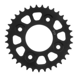 BikeMaster Rear Steel Sprockets for Street Rear, 420, 34T, Black