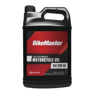 BikeMaster Performance Oil Conventional, 20W50, 1 gal., for Case Order 4