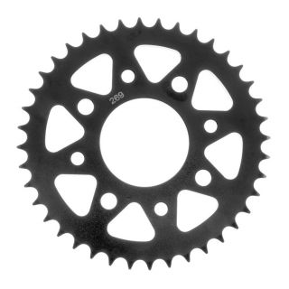 BikeMaster Rear Steel Sprockets for Street Rear 428, 45T, Black