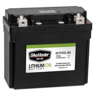 BikeMaster Lithium-Ion Batteries for Street DLFP20L-BS Battery, 175mm L x 87mm W x 155mm H