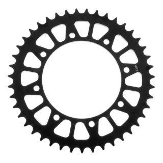 BikeMaster Rear Steel Sprockets Rear 520, 42T, Black