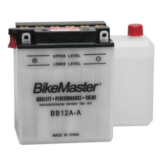 BikeMaster Performance Conventional Batteries for ATV BB12A-A Battery