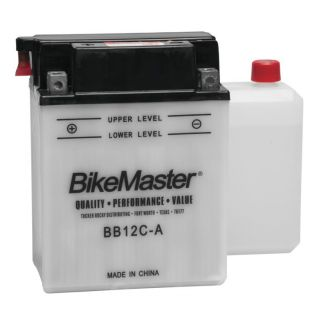 BikeMaster Performance Conventional Batteries for ATV BB12C-A Battery
