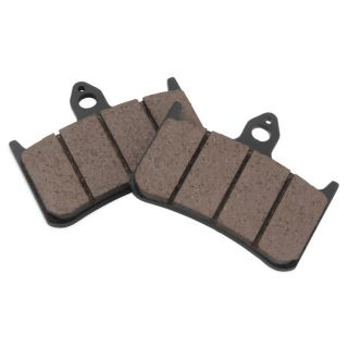 BikeMaster Front Organic Brake Pads and Shoes Front