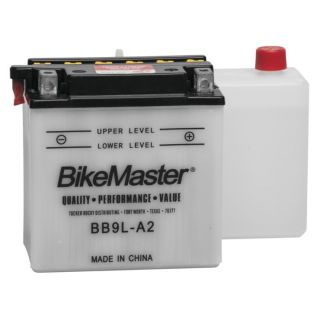 BikeMaster Performance Conventional Batteries for ATV BB9L-A2 Battery