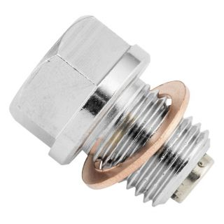 BikeMaster Steel Magnetic Oil Drain Plugs 14mm x 1.5