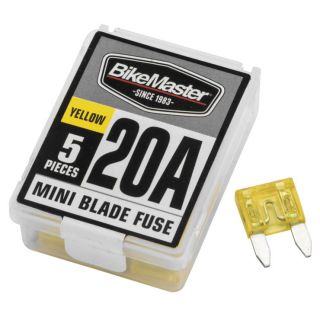 BikeMaster Mini Blade Type 20A, 5 pc.