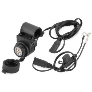 BikeMaster Dual USB Port/Plug Charger