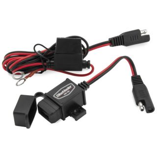 BikeMaster USB Charger Kit 2.1A, Quick Disconnect