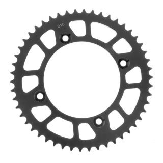 BikeMaster Rear Steel Sprockets for Offroad Rear 420, 49T, Black