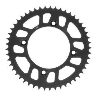 BikeMaster Rear Steel Sprockets Rear 428, 49T, Black