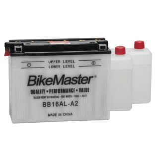 BikeMaster Performance Conventional Batteries for Street BB/YB16AL-A2 Battery
