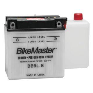 BikeMaster Performance Conventional Batteries for ATV BB9L-B Battery