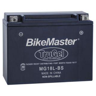 BikeMaster TruGel Batteries for ATV MG18L-BS Battery, 205mm L x 87mm W x 162mm H