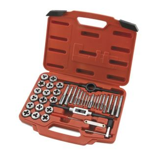 BikeMaster Tap and Die Wrench Set 40 Piece Metric Set