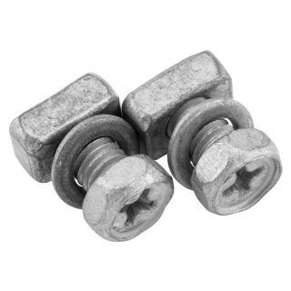 BikeMaster Battery Hardware Battery Bolt 5 x 9mm Bolt/Square Nut/Spacer (1 Set)