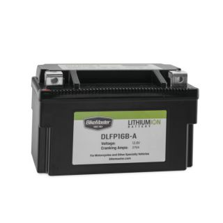 BikeMaster Lithium-Ion Batteries for Street DLFP16B-A Battery, 148mm L x 87mm W x 94mm H