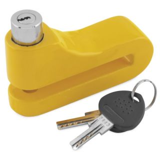 BikeMaster 10mm Disc Lock Yellow