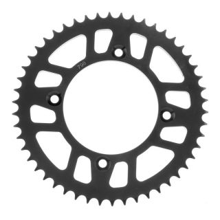 BikeMaster Rear Steel Sprockets for Offroad Rear 428, 50T, Black