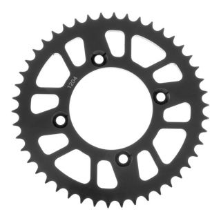 BikeMaster Rear Steel Sprockets Rear 428, 46T, Black