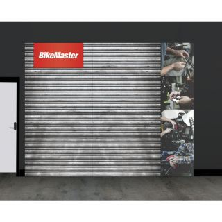 BikeMaster Brand in a Box Retail Wall Kit