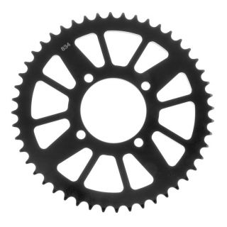 BikeMaster Rear Steel Sprockets for Offroad Rear 420, 45T, Black