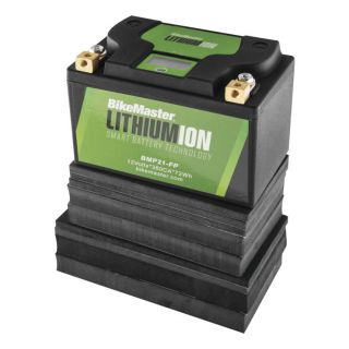 BikeMaster Lithium-Ion 2.0 for Street 148mm L x 86mm W x 105mm H, Replaces Lead Battery: BTX20H-BS, BTX20CH-BS, B50-N18A-A