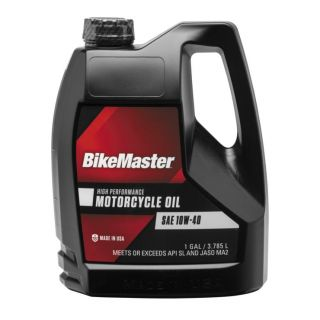 BikeMaster Performance Oil Conventional, 10W40, 1 gal., for Case Order 4