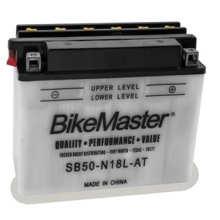 BikeMaster Performance Conventional Batteries for Street SB/SY50-N18L-AT Battery