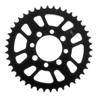 BikeMaster Rear Steel Sprockets for ATV/UTV Rear 420, 37T, Black